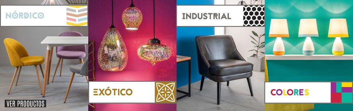 especial iluminacion y muebles