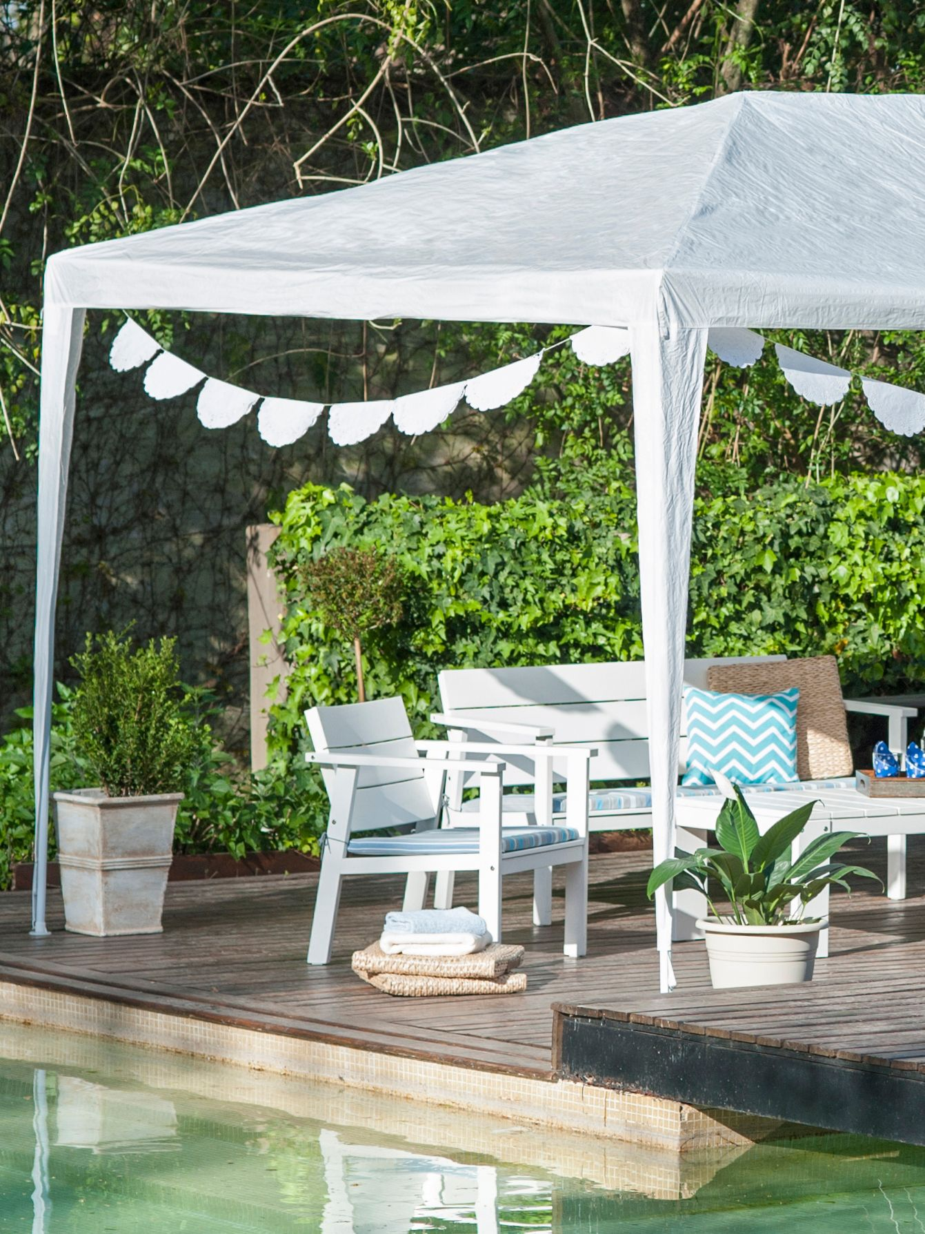 Muebles de exterior catalogo y ofertas easy argentina for Gazebo plegable easy