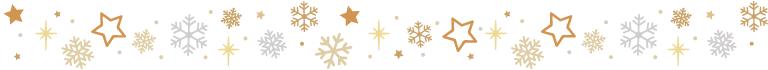 separador navidad shine
