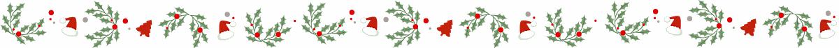 separador navidad tradicional