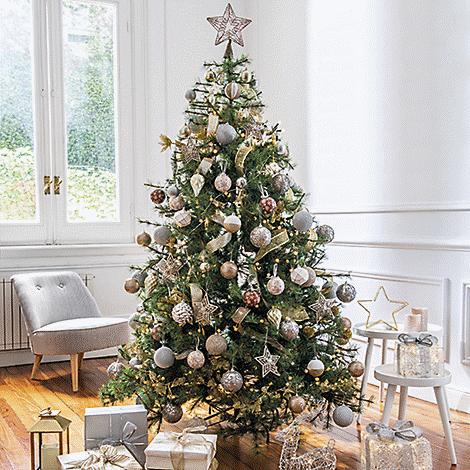Arbol navidad estilo shine