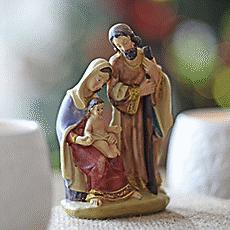 Pesebre sagrada familia