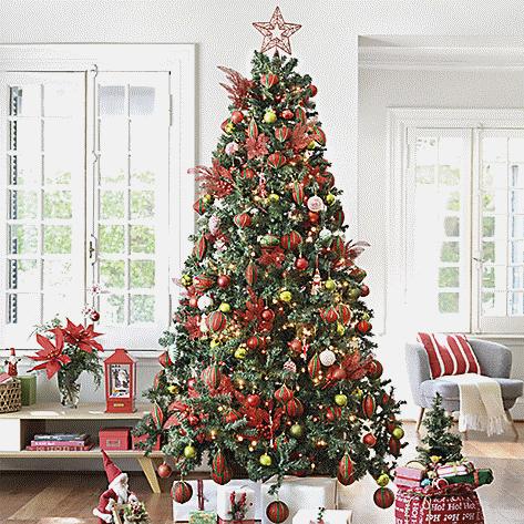 e95283055773f Arbol navidad estilo tradicional