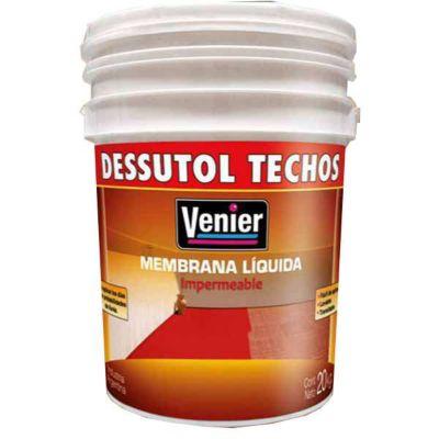 Membrana Líquida Para Techos Blanco 20Lts