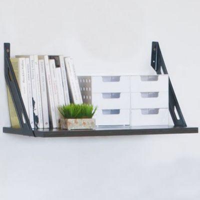 Kit Estante Melamina C/Soporte 40x60 negro