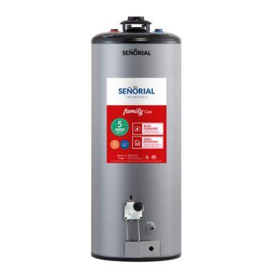 Termotanque Señorial Cromo 85Lts Gas Natural