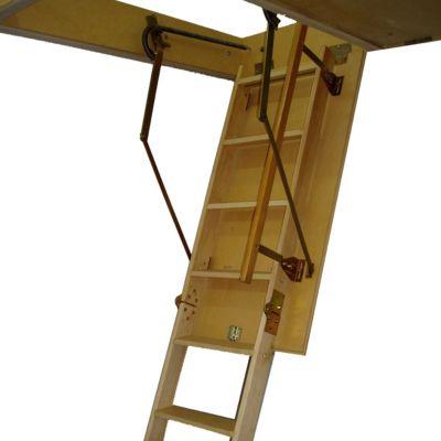 Escalera Altillo Plegable 2.40-2.60M Con Pasamano | Easy