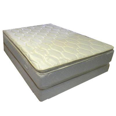Combo Colchon+Sommier 2 Plazas Pillow 140x190x30