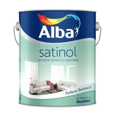 Esmalte Satin Satinol Blanco 4 Lts