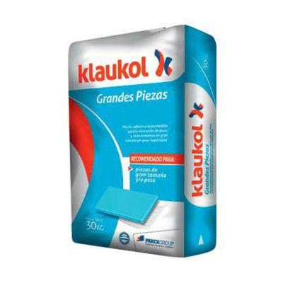 Adhesivo Klaukol Grandes Piezas 30kg