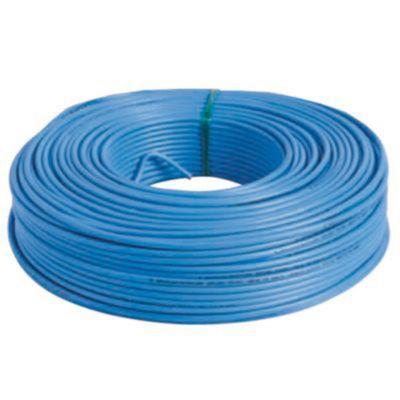 Cable Unipolar Celeste 2.5Mm Plastix CF 100 Mts