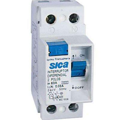 Interruptor Diferencial 2x40A 30MA Sica