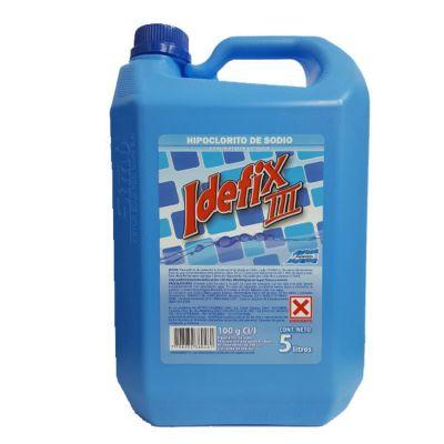 Cloro liquido 5 Lts Idefix III