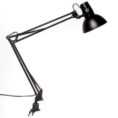 Lámpara Esc. Inc. M-008 Negra con Morza