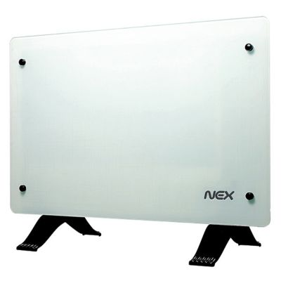Panel Vitro Convector Turbo 2000W Blanco
