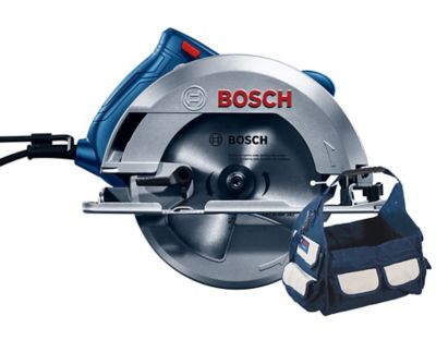 Sierra Circular Gks150 + Bolso Bosch