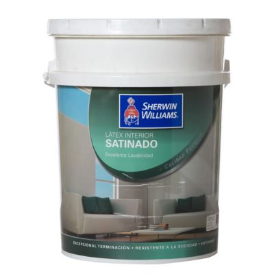 Látex Interior Sherwin Williams Satinadoado 20Lts