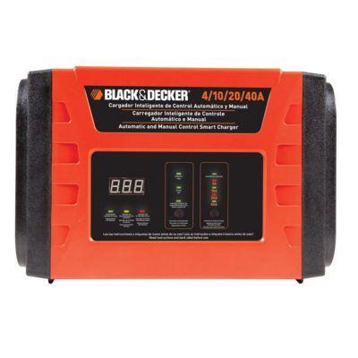 Cargador de Bateria 4/10/20/40 AMP Electrico B&D