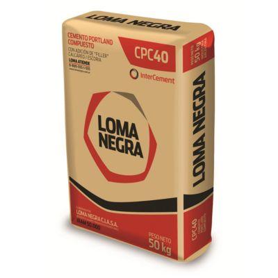 Cemento Loma Negra 50Kg Adquirible solo para CABA Y GBA